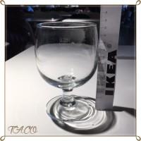 IKEAレストランのドリンクバーのグラス